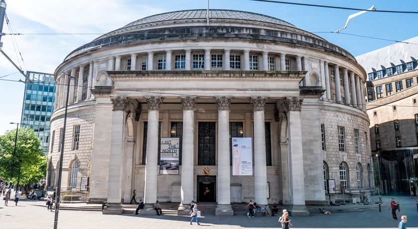 Manchester –  Central Library