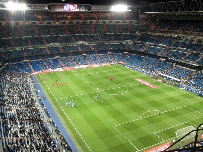 Santiago Bernabéu Stadium-Madrid