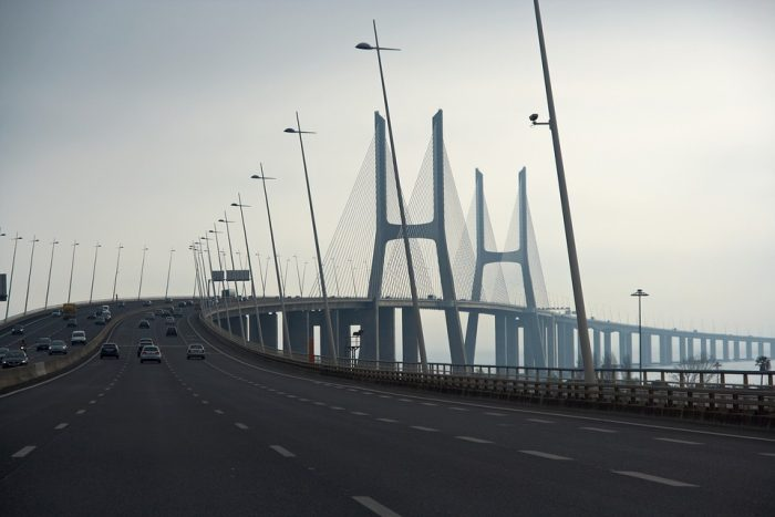 Vasco da Gama Bridge-Lisbon