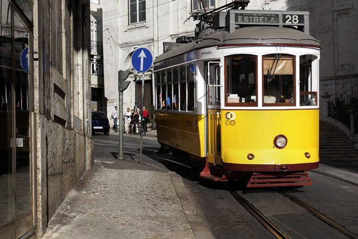 Tram 28-Lisbon