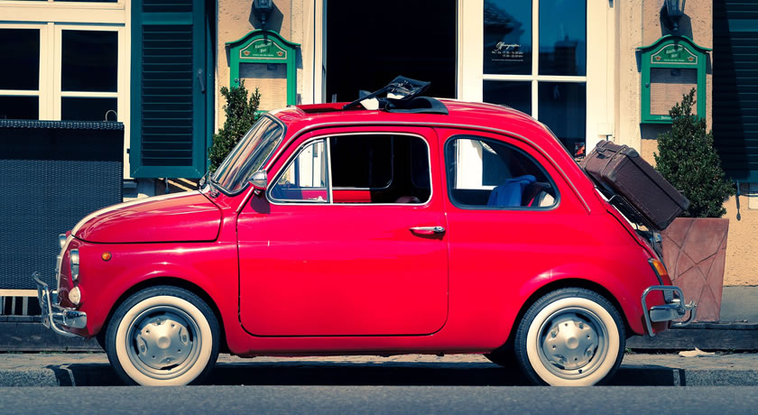 Rome – Driving the City in a Retro Fiat 500