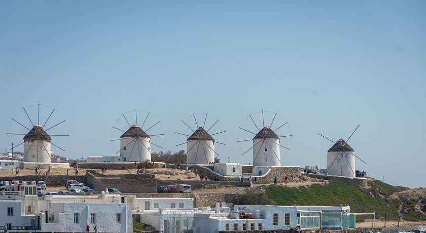 Mykonos – Discover the Windmills in Chora