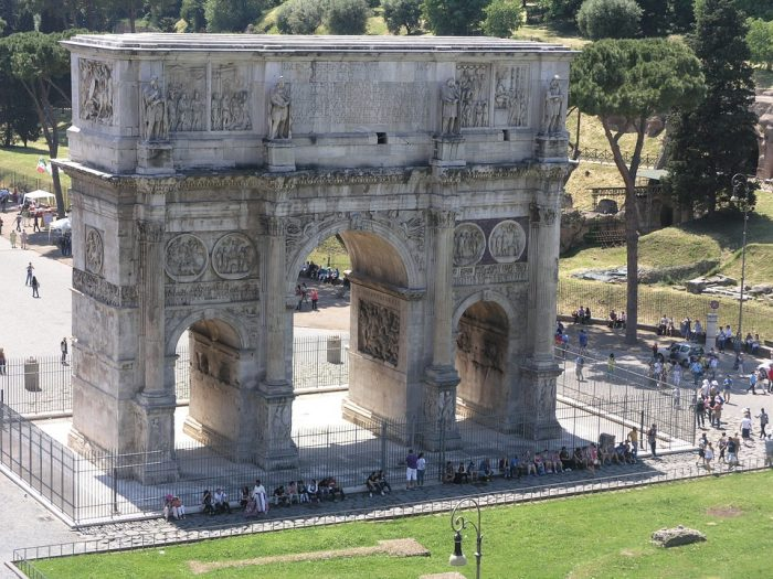 Arch of Constantine-Rome